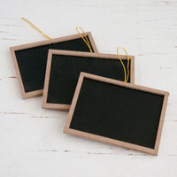 Mini Chalkboards — Kit of 3