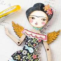 Winged Frida Project by Danita