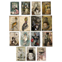Assorted Art Postcards by Ingrid Pomeroy