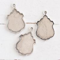 Nunn Design Ornate Bezels — Antique Silver