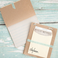Five-Minute Field Notebook Project