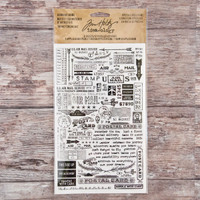 Advantus Tim Holtz Idea-ology Rub-Ons — Special Delivery