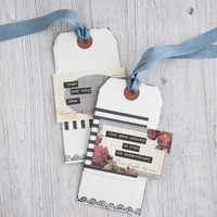 Vintage Flair Meets Modern Mix Tag Project