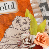 Rustic Fall Mixed-Media Project