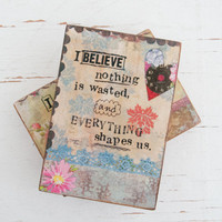 Kelly Rae Roberts Love Manifesto Blocks — Set of 2