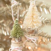 Miniature Christmas Tree Place Card Holders Project
