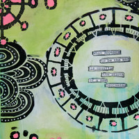 The Start of a New Beginning Art Journal Page Project