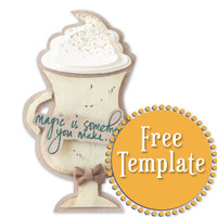 Latte Glass Template
