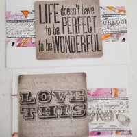In the Moment Quick and Easy Cards Project