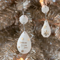 All that Glitters Holiday Ornaments and Gift Wrap