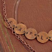Explorer Necklace Project by Sarah Donawerth