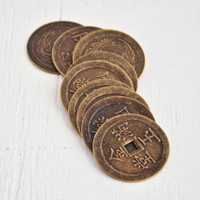 Large Antique Chinese Coin — Pack of 10