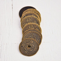Medium Antique Chinese Coins — Pack of 10