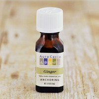 Aura Cacia Essential Oils, 0.5 fl. oz. — Ginger