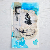 Feathers, Lace, and Watercolors Burst Project