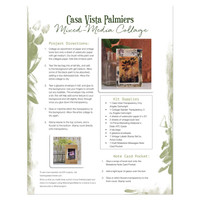 Casa Vista Palmiers Transparencies Two Ways Projects + A FREE Printable