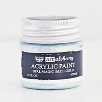 Art Alchemy — Finnabair Acrylic Paint — Opal Magic Blue Gold