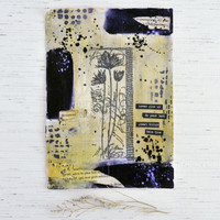 Midnight Blooms Mixed-Media Project