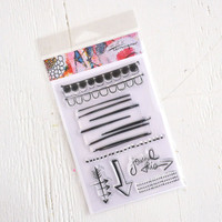 Rae Missigman Jot It Down Stamp Set