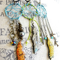 Mini Dreamcatcher Necklace Project by Cat Kerr