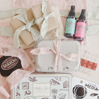 Hand-Stamped Muslin Fabric That's To Dye For by Christen Hammons