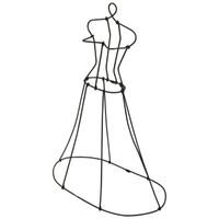 """Wire Dress Form 13"""""""