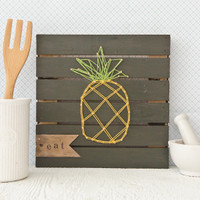 Pineapple String Art Project