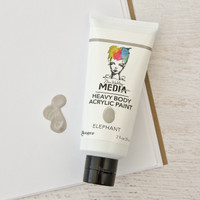 Ranger Ink Dina Wakley Media Heavy Body Acrylic Paint —œ Elephant