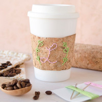 DIY Stitchable Cork Embroidery Kit