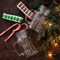 Holly Jolly Engraved Mugs Project