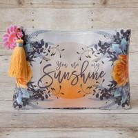 Papaya Art Large Accessory Pouch — You are My Sunshine