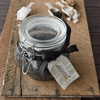 Chocolate Body Salt Scrub Kit with Activated Charcoal