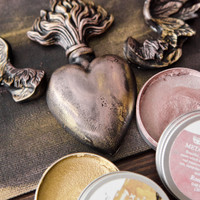 Waxing Poetic about Metallique Waxes by Christen Hammons