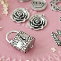 Old Silver Jewelry Charms Kit from B'sue by 1928
