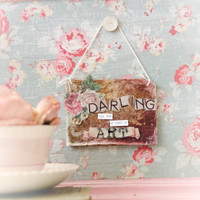 Darling Canvas with Honey Resin Starter Kit