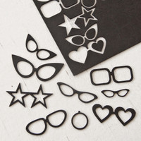 Chipboard Collage Cut-Outs Glasses and Monocles