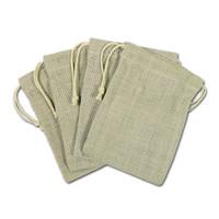 Jute Bags Ivory 5 x 7 — Set of 4