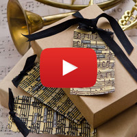 Gilded Sentiments Tag Video