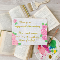 Bookish Quotes Project