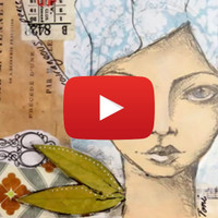 Creating a Mixed Media Girl Video with Toni Burt