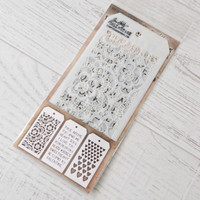 Tim Holtz Mini Layered Stencil Set #6