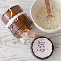 Fizzy Face Mask Kit with Bentonite Clay