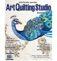 Art Quilting Studio Summer 2018