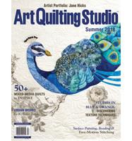 Art Quilting Studio Summer 2018