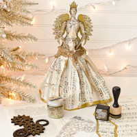 Steampunk Angel Christmas Tree Topper Project