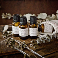 Energizing Minty Scents – Essential Oil Gift Set