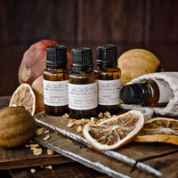Citrus Scents for Detoxifying and Energizing – Essential Oil Gift Set