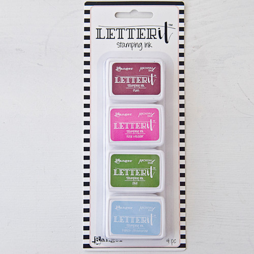 Letter It Stamping Ink Set #2