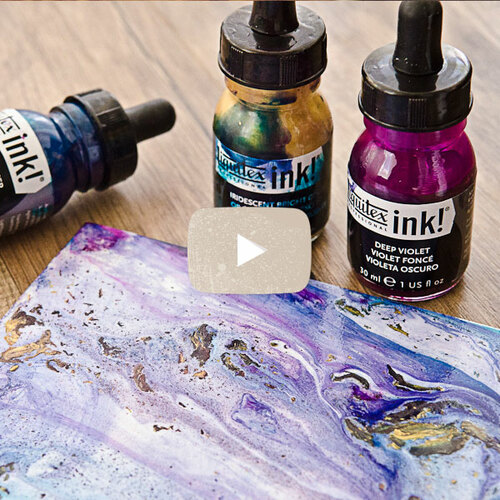 Acrylic Pour Techniques Video