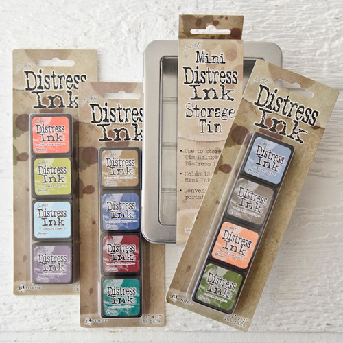 Tim Holtz Distress Ink Set Starter Kit